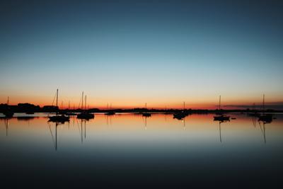 Sonnenuntergang Maasholm