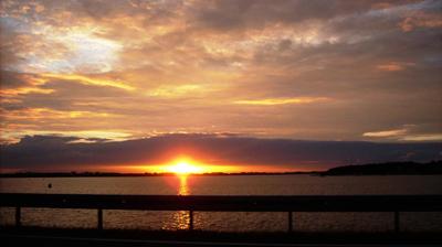 Sonnenuntergang am Strelasund