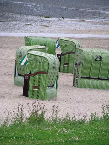 Strandkörbe in Dangast