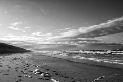 Morgenspaziergang am Strand von Rantum/Sylt