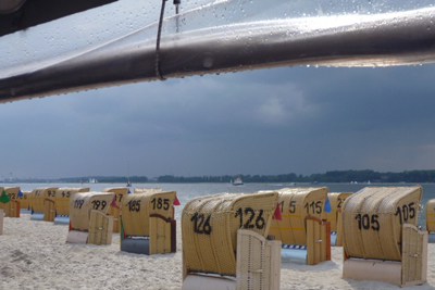 Strandstimmung in Laboe