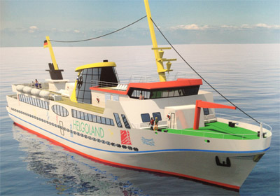 Helgoland bekommt ein neues Flaggschiff