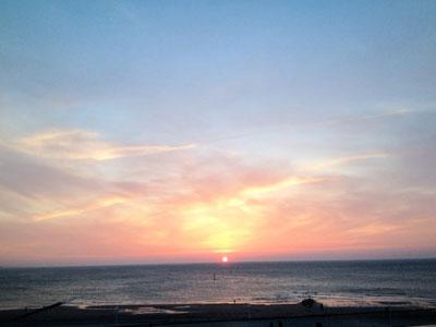 Sonnenuntergang Norderney – Ostern 2013
