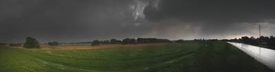 Gewitter an der Elbe