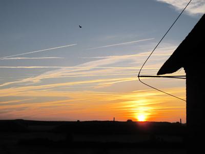 Sonnenaufgang in der friesischen Karibik (Amrum)
