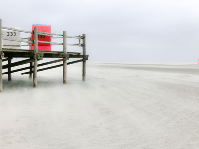 Sandsturm in St.Peter-Ording
