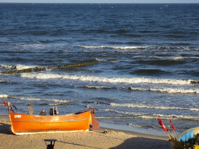 Ostsee Sandstrand in Rewal