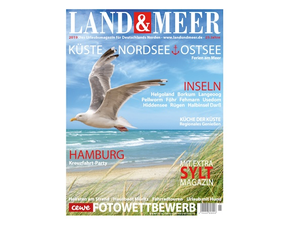 Land & Meer Titel 2019 zum Download