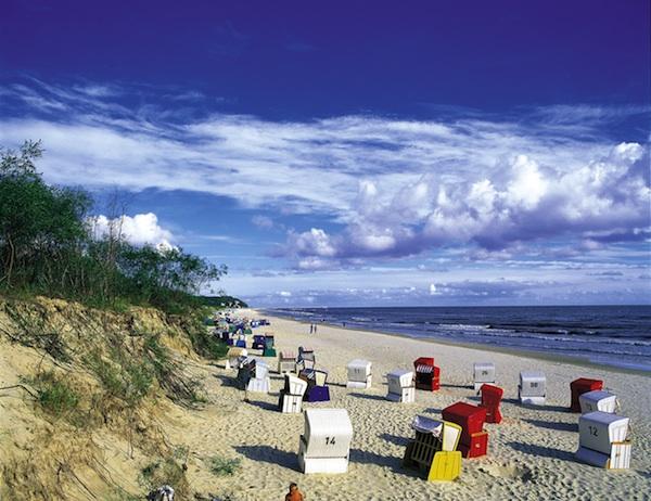 Strand statt Tribüne