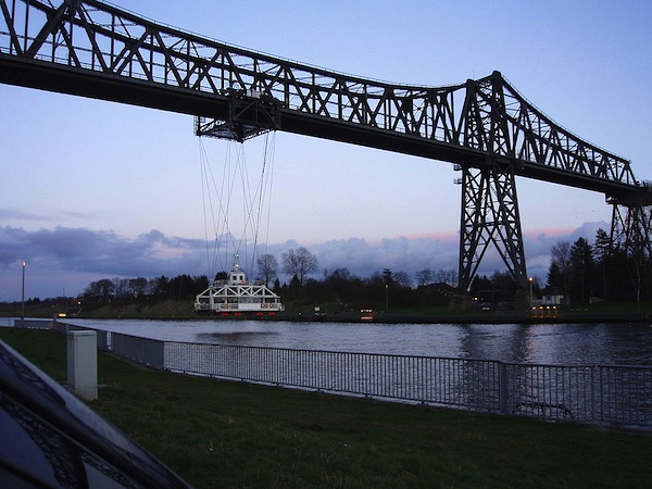 Die Rendsburger Schwebefähre wird neu gebaut