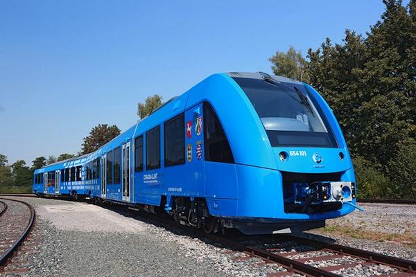 Der erste Wasserstoff-Zug fährt ab Buxtehude