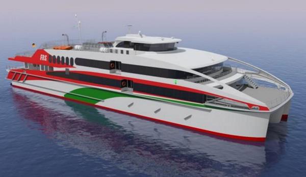 Ein neues Schiff für Helgoland