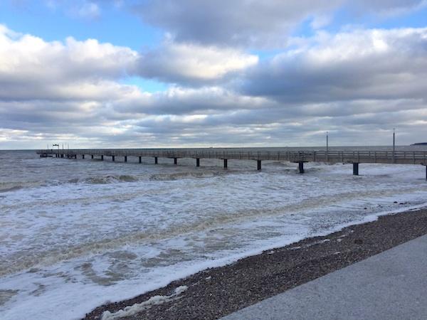 Turbulenter Jahresauftakt bei uns im Norden