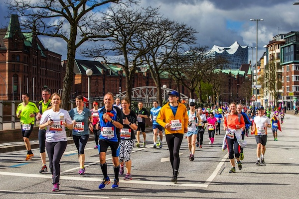 32. Haspa Marathon in Hamburg