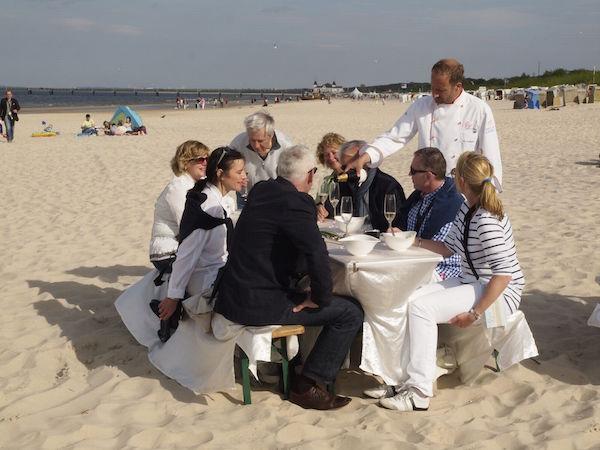 Kulinarische Strandwanderung auf Usedom