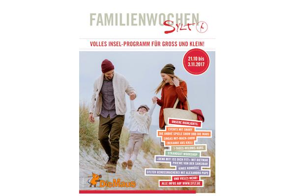 """Premiere für die """"Familienwochen Sylt"""