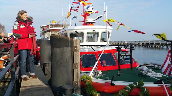 NIMANOA heißt das jüngste Spezialschiff der Seenotretter