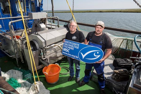 MSC-Zertifikat für Krabbenfischer