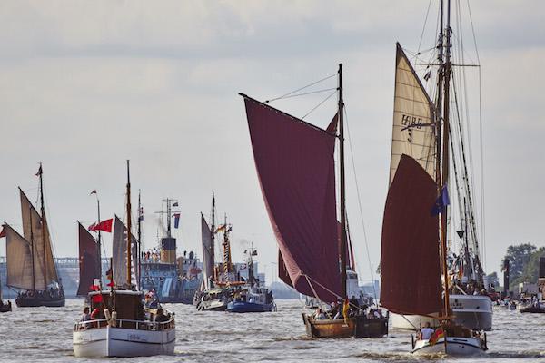 Europas größte Traditionsschiffflotte ist dabei