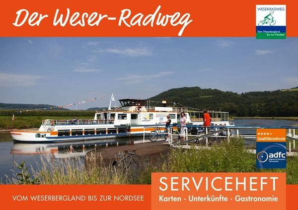Neues Weser-Radweg-Serviceheft 2019