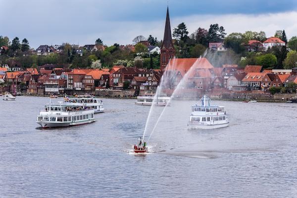 Fest der Elbschifffahrt in Lauenburg und Hohnstorf